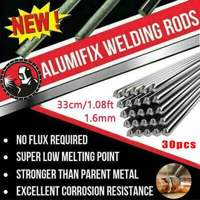 30pcs Universal Low Temperature Aluminum Welding Rods Cored Wire 33cm1.08ft