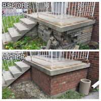 Chimney repairs and All masonry jobs