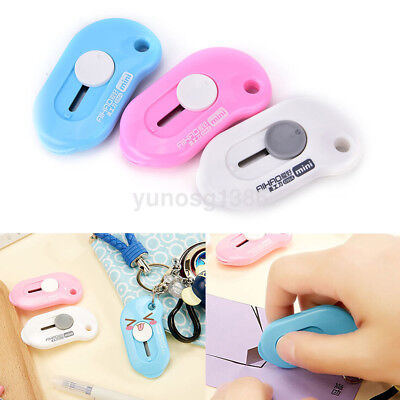 (Small Mini Pocket Knife Paper Cutter Cutting Paper Razor Blade Office Stationery)