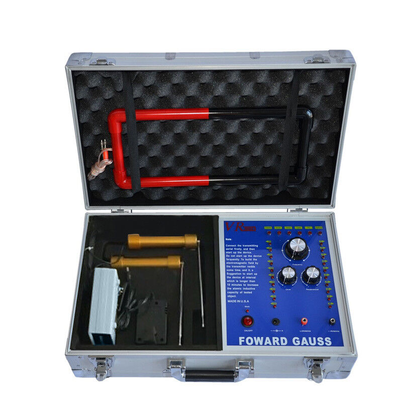 VR9000 Long Range Underground Gold Silver Copper Lead Diamond Metal Detector 65M