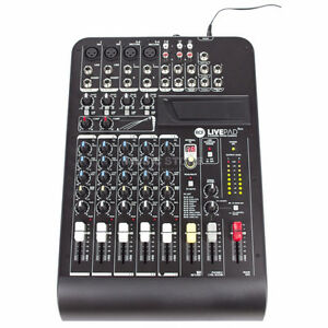 RCF L-PAD 8CX 8 CHANNEL MIXING CONSOLE WITH EFFECTS