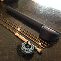 Fly rod/reel combo