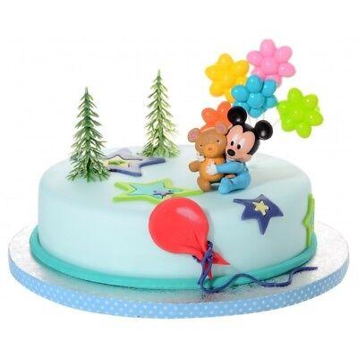 Tortendeko Mickey Mouse Baby Tortenaufleger Kindergeburtstag Kuchen Deko