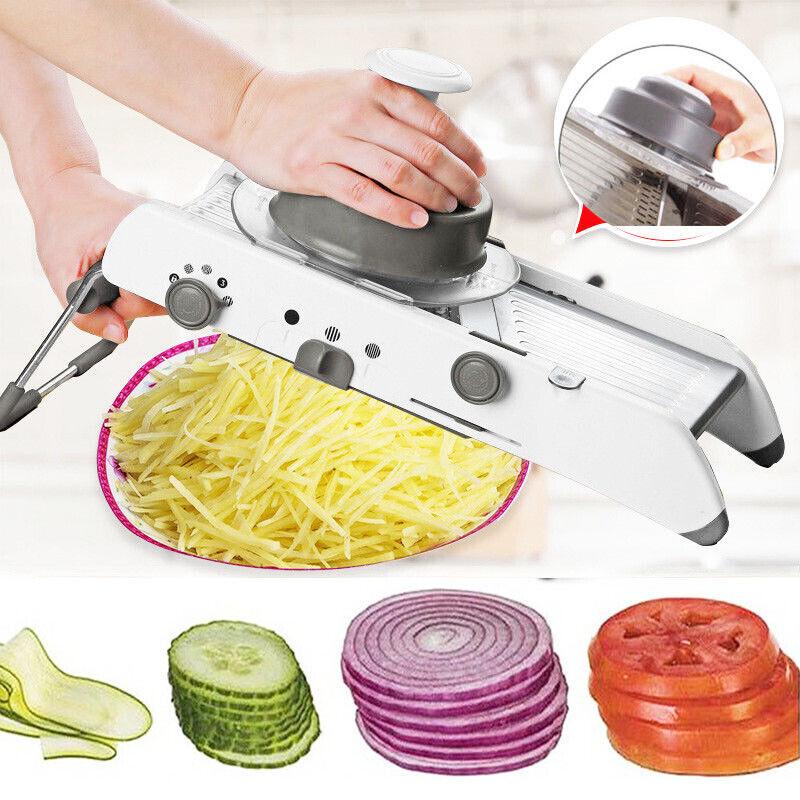 18-in-1 Mandoline Fruit Vegetable Slicer Kitchen Food Cutter
