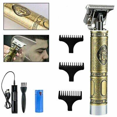Cortadora de pelo eléctrica profesional para hombre, afeitadora de barba