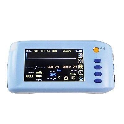 Portable Icu Ccu Medical 5-parameter Vital Sign Patient Monitor Vital Signs A