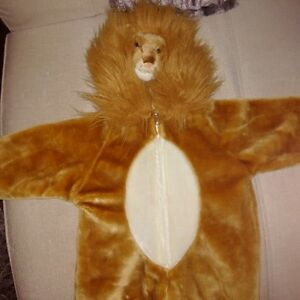 Halloween Lion outfit