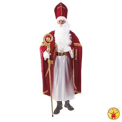 Bischofsrobe Weihnachtsmannkostüm Nikolauskostüm 3tlg. Rubies  (Rubies Weihnachtsmann Kostüm)