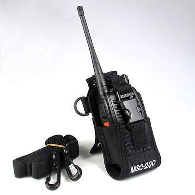 Msc 20C Nylon Radio Bag Case Holder Pouch For Baofeng Uv B5 Uv82 Uv8 D Gt 3 Uv5r