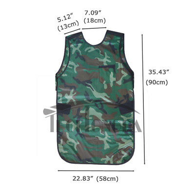M Size 0.35mmpb Camouflage X-ray Protection Apron No-lead Protective Vestcollar