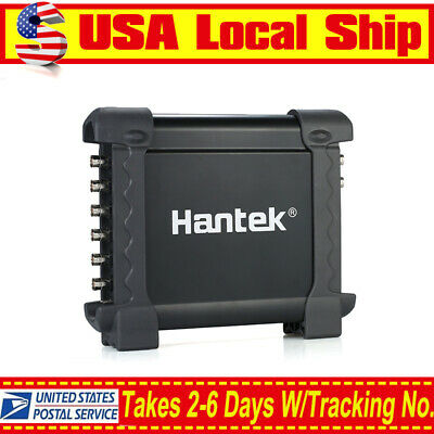 Hantek 1008c Pc Usb 12 Bits Oscilloscope 8ch Automotive Diagnostic 2.4msas 8ch