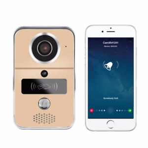 Wifi Video Doorbell H.264 720P Smart Video Doorbell