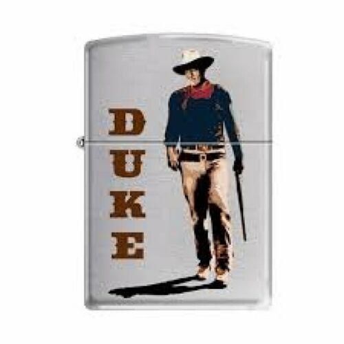 Zippo Lighter - John Wayne - Duke Walking Tall Brushed Chrome - 853282