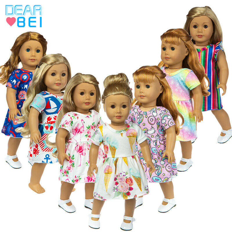 Suitable for 18 inch American girl doll clothes accessories