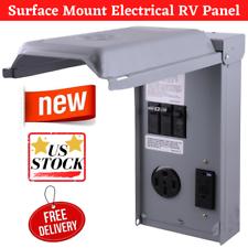 RV Electrical Panel 240V 50/20 Amp Rolled Edge Door Load
