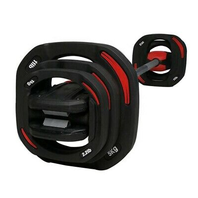 20KG Smart Bar Body Pump Set - Smart Barbell Dumbbell Les Mills