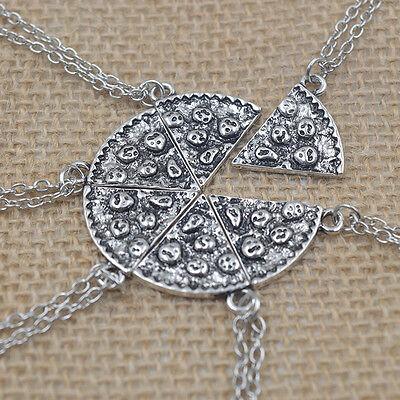 Pizza Anhänger Halskette Kreative Freundschaft Halskette  Ew (Pizza Halsketten)