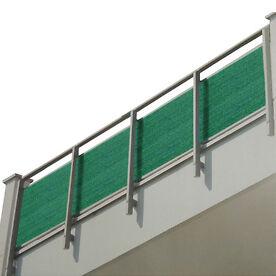 Balkon Sichtschutz 0,8 x 5 m o. 1,2 x 5 m, 90%iger UV-Schutz