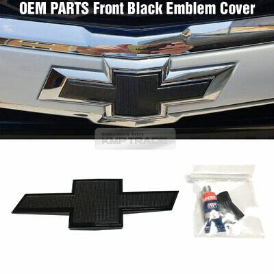 OEM Parts Front Griil Black Emblem Badge Cover For CHEVROLET 2017-2019 Malibu