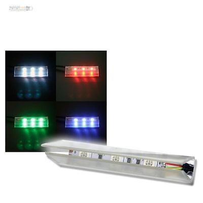 4 Set Led Illuminazione del Bordo in vetro illuminazione paviento con IR-FB
