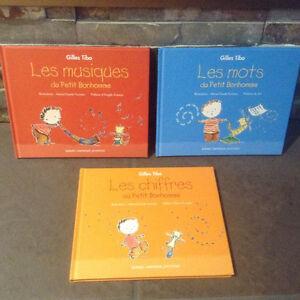 3 livres Gilles Tibo : Les Musiques, Les mots et Les Chiffres