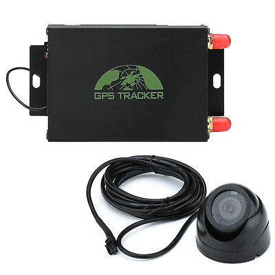 Car Gps Tracker With Camera Gps Lbs Geo Fencing Realtime Tracking Mobile App Dhl