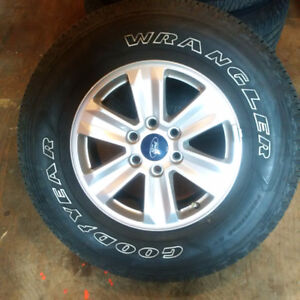 2016 Ford Factory 17 inch rims and tires