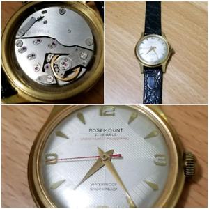 Vintage Men's Rosemount Watch