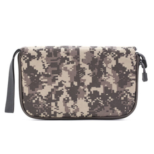 pistol carry bag portable military handgun holster pouch hand gun soft case TK цена 4.75 EUR