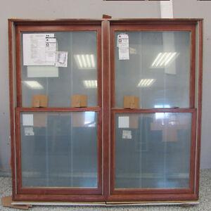 LIQUIDATION VENTE FINALE- Fenêtre à guillotine bois / aluminium