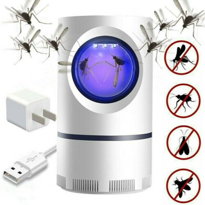 Mosquito And Flies Killer Trap - Suction Fan, No Zapper, Child Safe US STOCK