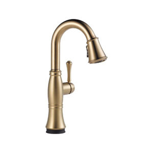 Delta 9997T Cassidy Single Handle Pull Down Bar Prep Faucet With