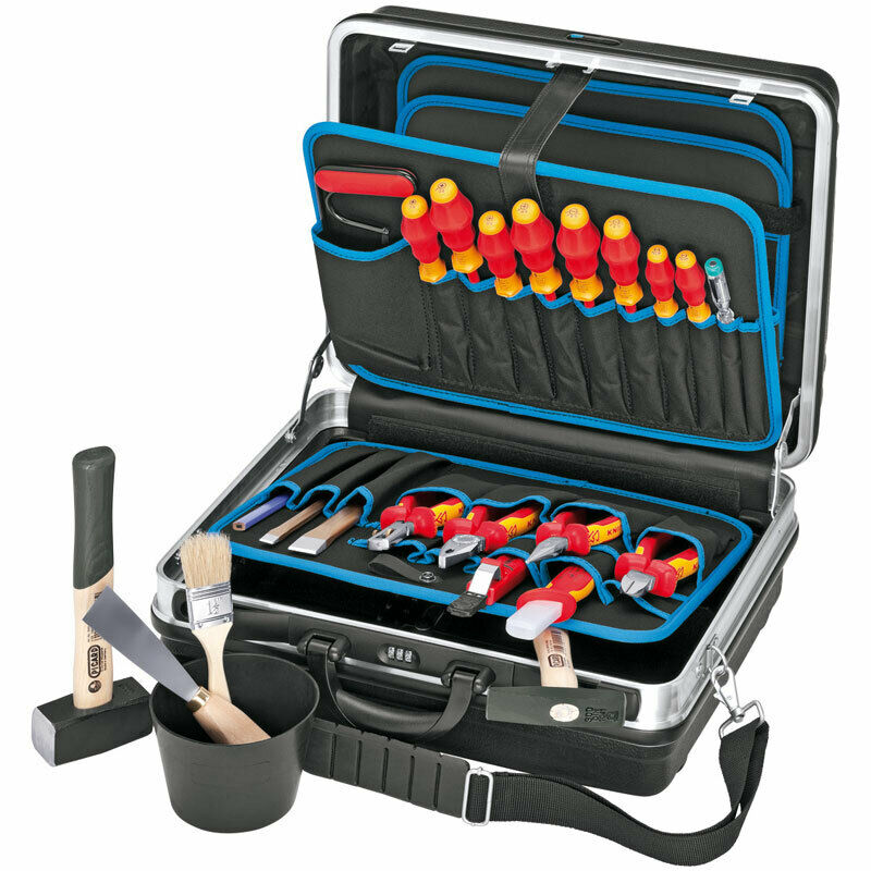KNIPEX VDE Werkzeugkoffer Elektro Standard Lehrlings, Azubikoffer 002105HLS