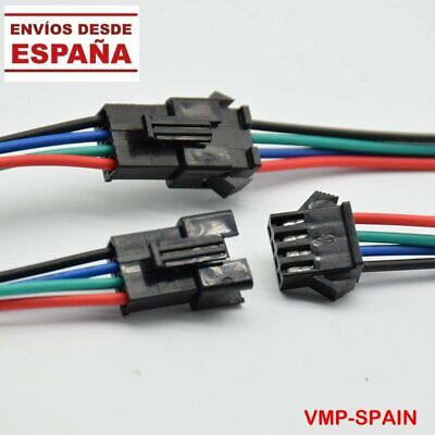 KIT 4 CONECTORES JST 4 PINS PARA PATINETES ELECTRICOS - SCOOTERS -...