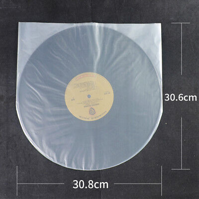 "50pcs/lot LP Record Disc File 12"" Vinyl poly bags inner Sleeves Cover bags Album"
