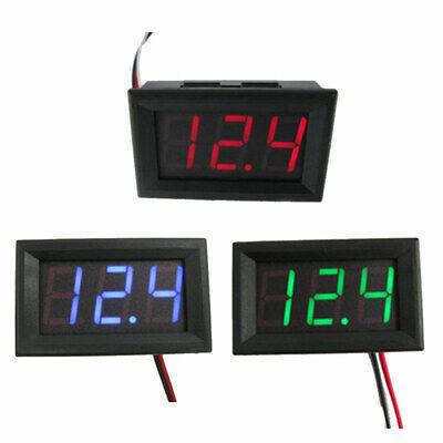 Led Mini Dc4.5v-30v Digital Voltmeter Cdiy Tester Panel Gauge Meter Volt Ammeter