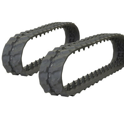 Pair Of Prowler Bobcat Mt52 Rubber Tracks - 180x72x39 - 7