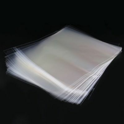 50 Resealable 4 Mil Plastic Vinyl Record Outer Sleeves For 12