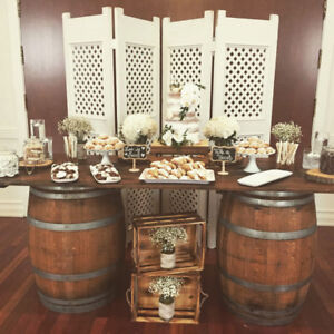 Wine & Whiskey Barrels to Rent