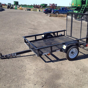 Landscaping 4x6 trailer