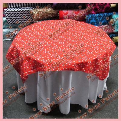 Table Overlay Bandana Print Cotton 58