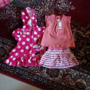 Like-new! 12-18 month Girl's Minnie Mouse Bathing Suit Cover-up