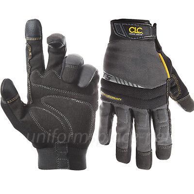 Clc Work Gloves Mens Flex Grip Handyman Gloves W 3 Touch Screen Fingertips 125
