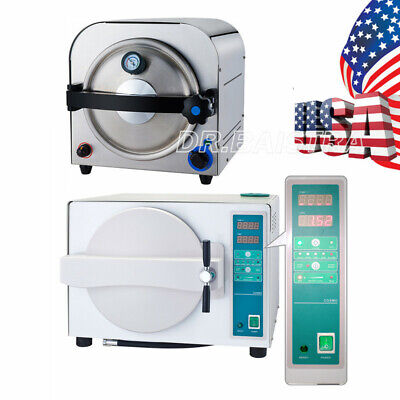 14l18l Dental Lab Autoclave Steam Sterilizer Sterilization Equipment Dentistry