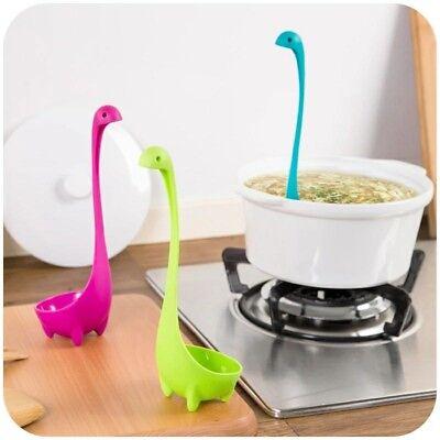 Modern Soup Spoon Scoop Kitchen Gadget Swan BLUE