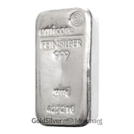 1kg Umicore .999 fine silver bar for sale