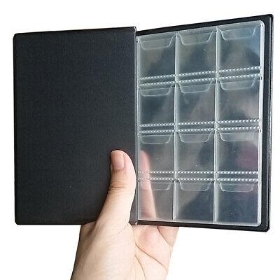 1X Profesional Monedas Colección Libro Álbum para 120 PC Monedas Portátil