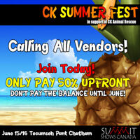 CK Summer Fest - Looking for Vendors