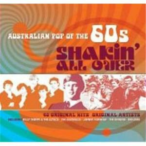AUSTRALIAN POP OF THE 60s SHAKIN' ALL OVER VARIOUS ARTISTS 2 CD NEW