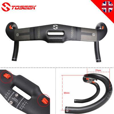 Road Bike Carbon Fiber Drop bar 31.8*400/420/440mm Ultralight Bicycle Drop bar ()